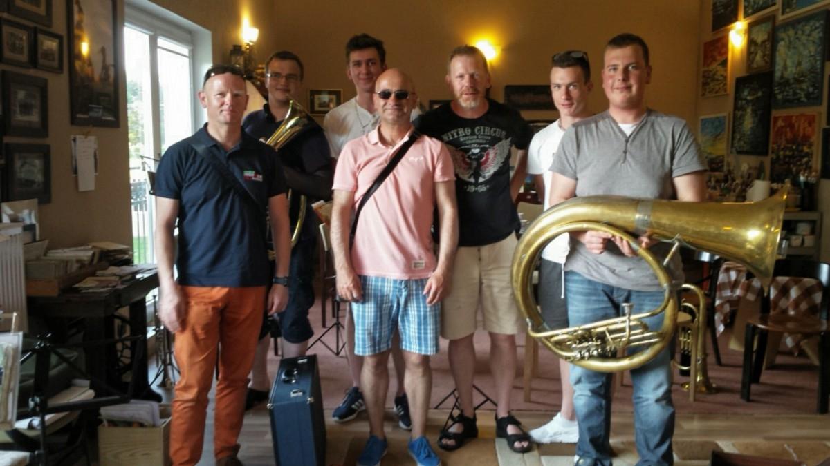Orkiestra Reprezentacyjna Marynarki Wojennej w Villi Astrid