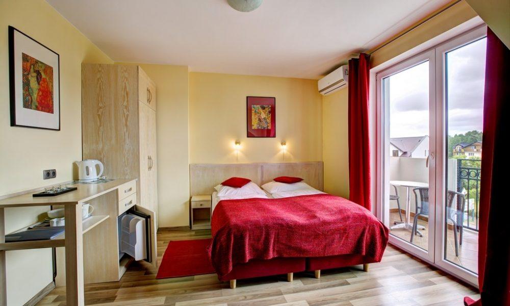 Przykładowy pokój 2-os, czerwony, II piętro